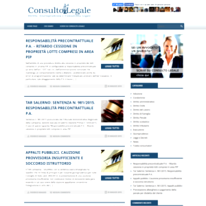 consultolegale.com Home page