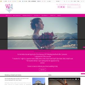 Sito web Wedding Amalfi