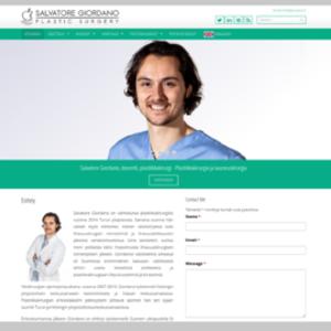Sito web Salvatore Giordano