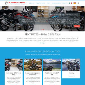 Rental Motorcycle Tour
