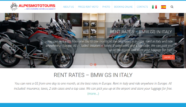 Rental Motorcycle Italy