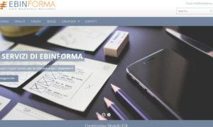 Ebinforma.it, pubblicato il nuovo sito web
