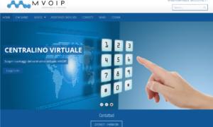 Mvoip. Realizzato il restyling del sito web