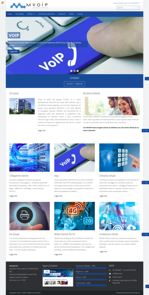 Il nuovo sito Mvoip