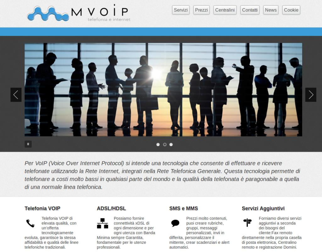 Il vecchio sito Mvoip