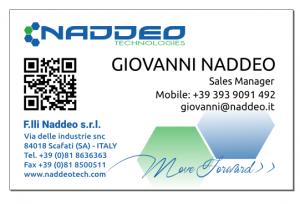 biglietto da visita Naddep